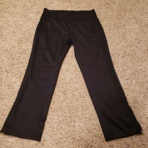 Nike Black Joggers Inner Drawstring LG Bottom Zip